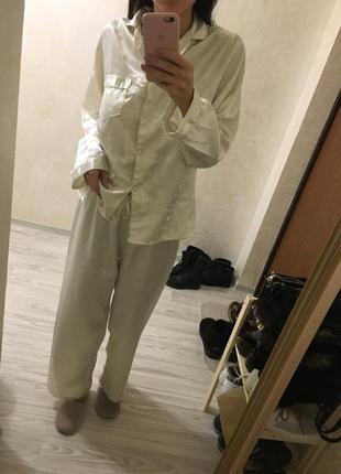 Пижамка атласная3
