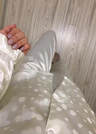 Пижамка атласная2