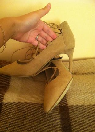 Брендовые туфли-лодочки new look оригинал новые с этикеткой р-р 40. супер!3