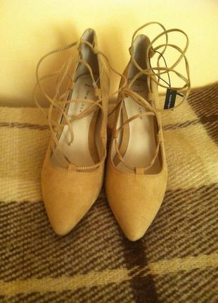 Брендовые туфли-лодочки new look оригинал новые с этикеткой р-р 40. супер!2