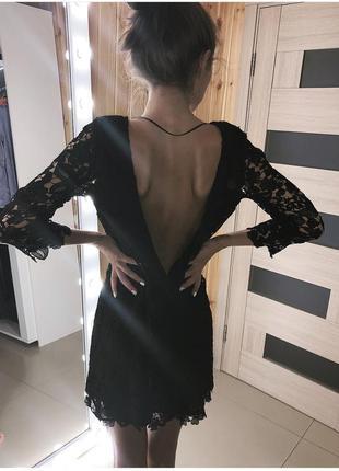 Платье с открытой спинкой !!