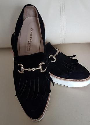 Туфлі  лофери laura bellariva розмір 401 фото