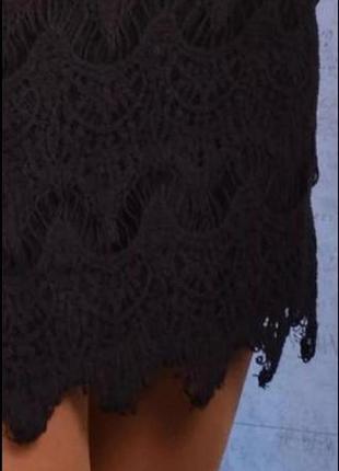 Красивое кружевное платье3
