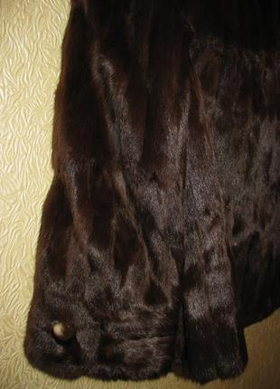 Шикарна натуральна норкова шубка від дорогого бренду elizabeth taylor&son3