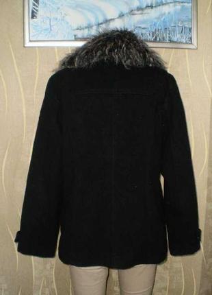 Красивое полу пальто atmosphere 50-52 милитари зима2