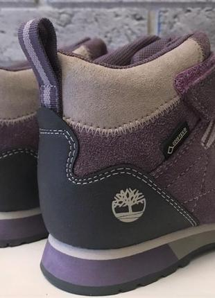Новые. ботинки timberland с мембраной gore-tex 100% замша высокие кроссовки  непромокаемые3 фото
