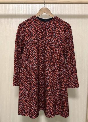 Невероятно крутое платье -трапеция,плотное,держит форму от дорогущего бренда2 фото