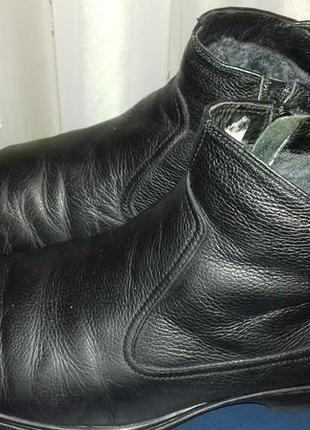 Ботинки golderr (куплены в интертоп), р.43, кожа, внутриовчина