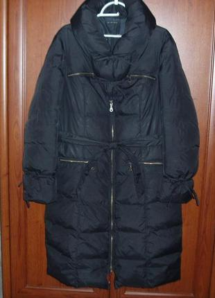 Зимнее пуховое пальто sisley1 фото