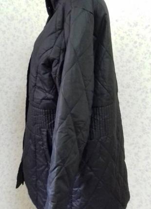 #модная куртка# деми #тепленькая# с красивой прошивной строчкой# большой раз-р.3