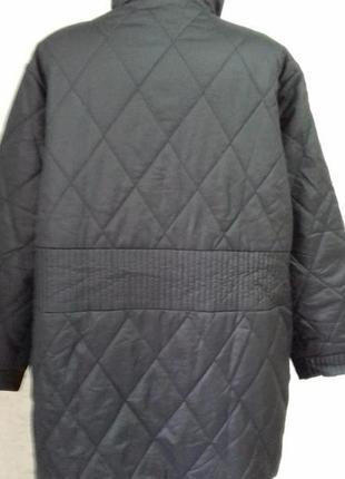 #модная куртка# деми #тепленькая# с красивой прошивной строчкой# большой раз-р.4