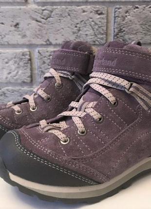 Новые. ботинки timberland с мембраной gore-tex 100% замша высокие кроссовки  непромокаемые4 фото