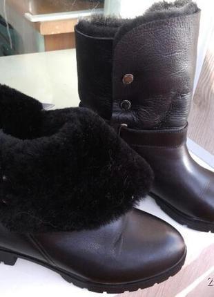 Ботинки, натуральная кожа и мех