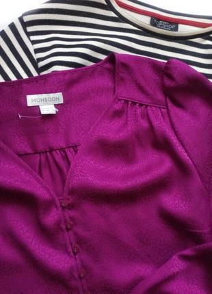 Красивая блуза, кофточка от monsoon с интересным рукавом5