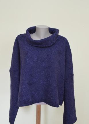 Нарядный немецкий свитер 100% шерсть1