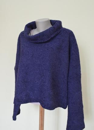 Нарядный немецкий свитер 100% шерсть2