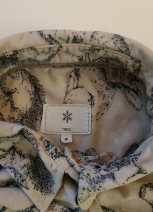 Пижамная кофточка рубашечка для дома с кармашком next р.м2 фото