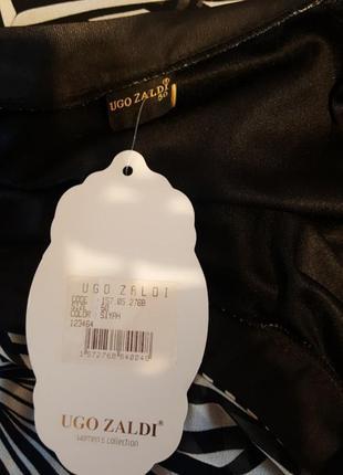 Нарядное черно/белое платье5
