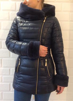 Зимний женский пуховик в идеальном состоянии.распродажа1