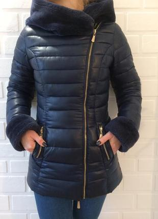 Зимний женский пуховик в идеальном состоянии.распродажа2