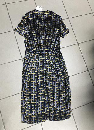 Платье фирменное шелковое others stories размер 36 или s2