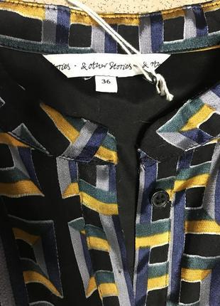 Платье фирменное шелковое others stories размер 36 или s5