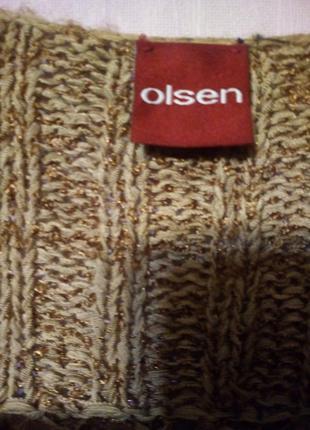 Olsen кофта кофточки кардиган в дырочку3