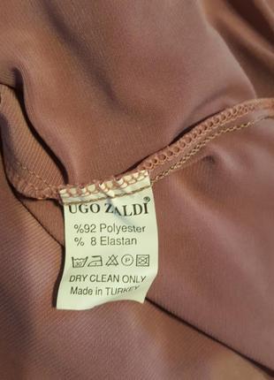 Грязно розовое платье4 фото