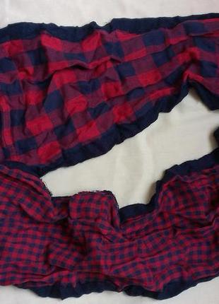 Стильный хлопковый  шарф/хомут  унисекс1 фото