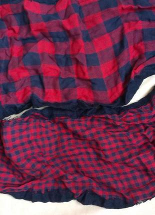 Стильный хлопковый  шарф/хомут  унисекс3 фото