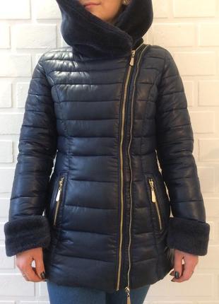 Зимний женский пуховик в идеальном состоянии.распродажа4