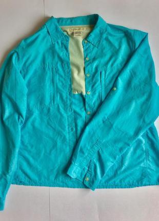 Сорочка/рубашка/куртка для тур-походів (солнцезащита,репеллент от насекомых) exofficio usa3