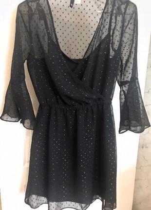 H&m, стильное платье1