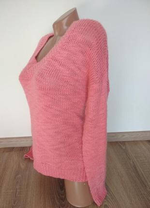 Яркий теплый зимний свитер свитшот hm2 фото