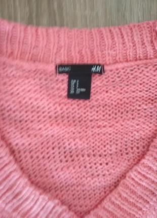 Яркий теплый зимний свитер свитшот hm5 фото