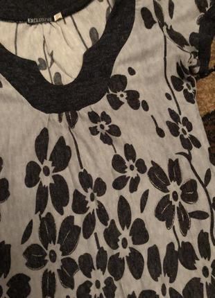 Тёплое платье туника3