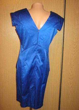 Очень классное платье сине-голубого цвета, р-р 46-482