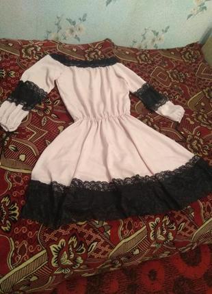 Нарядное платье3