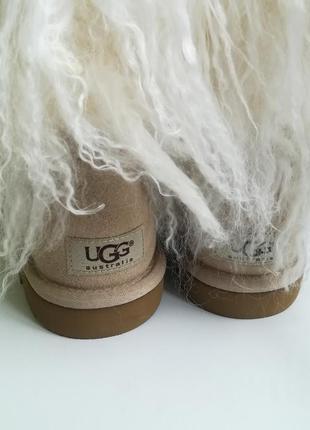 Ugg оригинал, натуральный мех, натуральная кожа, опушка мех ламы3