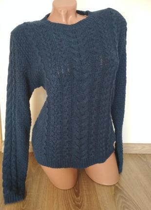 Теплый зимний свитер свитшот hm3