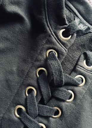 Світшот свитер із шнурівкою 🖤5