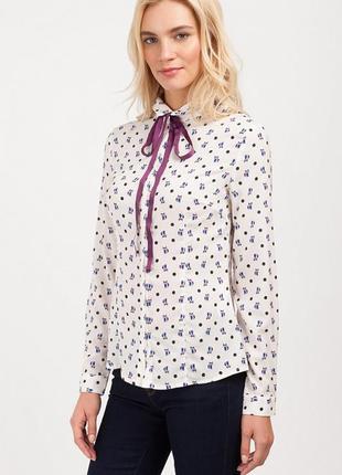 Стильная блуза в лисички