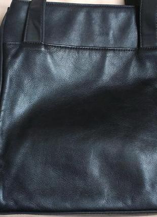 Комбинированная сумка кожа+кожзам4 фото