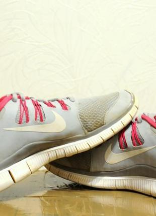 40/25.5 см женские кроссовки nike free 5.0 спортивные для бега/фитнесса/зала5