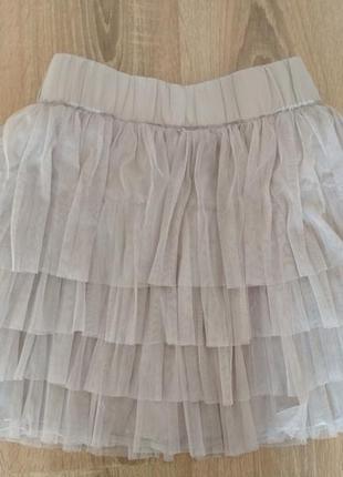Мини юбка фатин2 фото