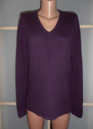 Кашемировый пуловер м/л1