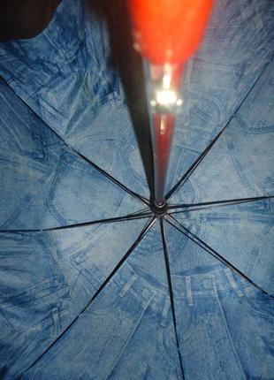 Зонтик princess с деревянной ручкой. раскладной. фирменный.4