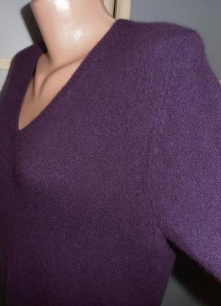 Кашемировый пуловер м/л3