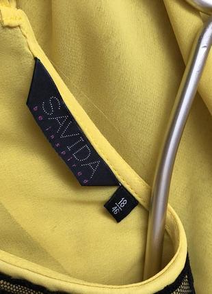 Шикарная шифоновая блуза с воротничком5