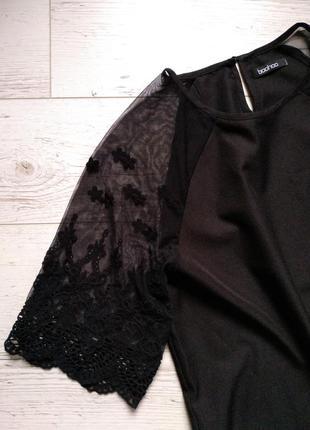 Платье прямого кроя с красивыми рукавами р. l2 фото